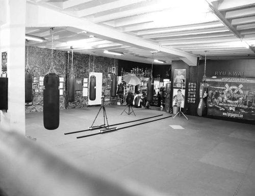 Tournage des clips promotionnels de la marque de vêtements Fight Gangsters